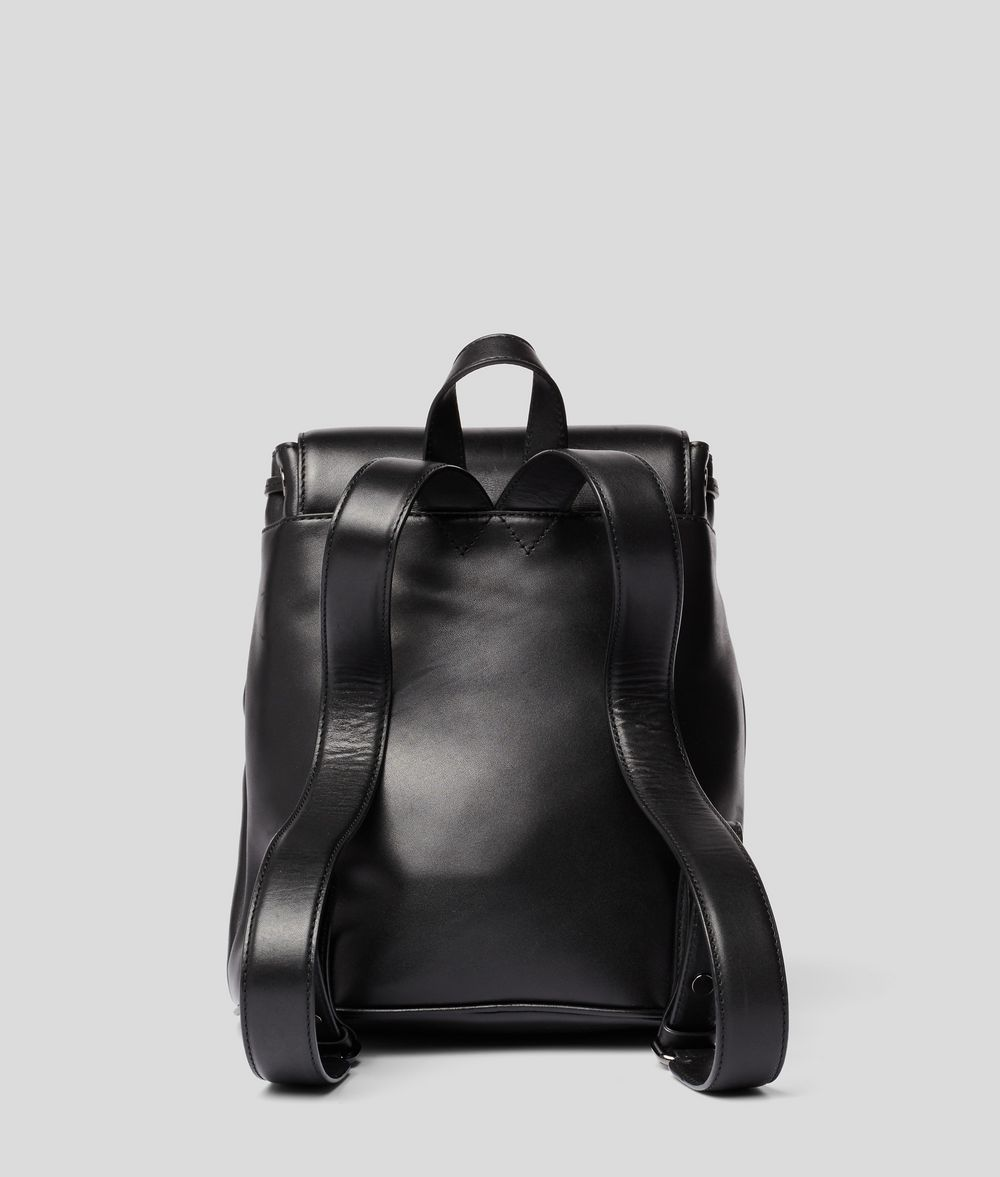 KARL LAGERFELD K/Signature Leather Backpack Backpack Woman d