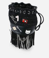KARL LAGERFELD K/Klassik Pins Mini Bucket Bag 9_f