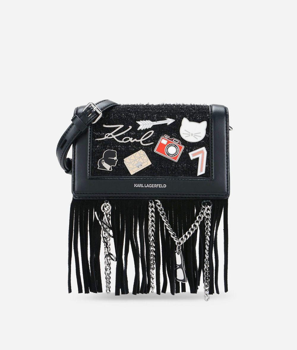 KARL LAGERFELD K/Klassik Pins Crossbody Bag Crossbody Bag Woman f