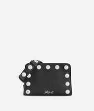 KARL LAGERFELD K/Snaps Schultertasche aus Leder, klein 9_f