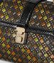 multicolor nappa ayers intrecciato stained glass piazza bag Back Detail Portrait