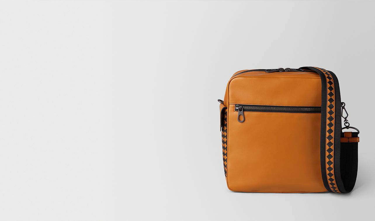 orange/nero butter calf pilot 18 bag landing