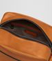 BOTTEGA VENETA ORANGE/NERO BUTTER CALF PILOT 18 BAG Messenger Bag Man dp