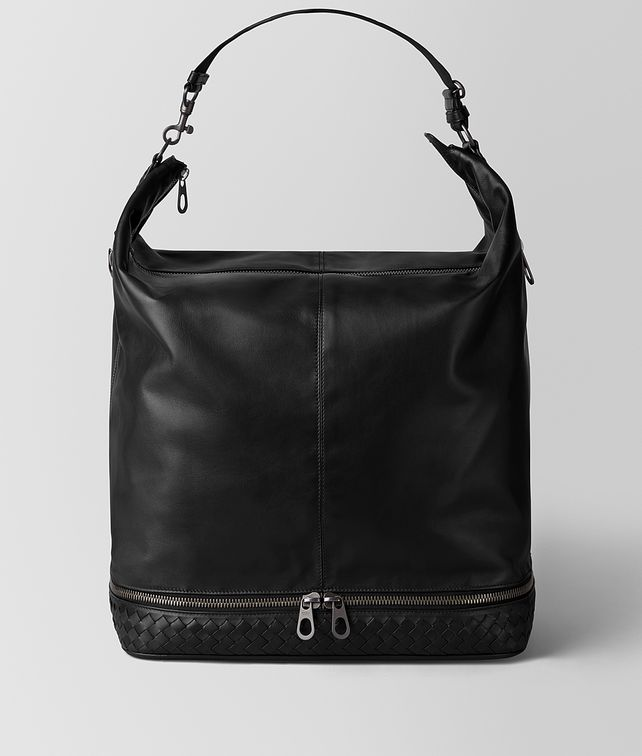 BOTTEGA VENETA NERO CALF MI-NY BAG Tote Bag [*** pickupInStoreShippingNotGuaranteed_info ***] fp