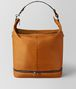 BOTTEGA VENETA ORANGE/NERO BUTTER CALF MI-NY BAG Tote Bag Man fp