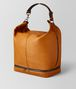BOTTEGA VENETA ORANGE/NERO BUTTER CALF MI-NY BAG Tote Bag Man rp