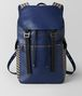 atlantic calf intrecciato checker backpack Front Portrait