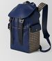 BOTTEGA VENETA ATLANTIC CALF INTRECCIATO CHECKER BACKPACK Backpack Man rp