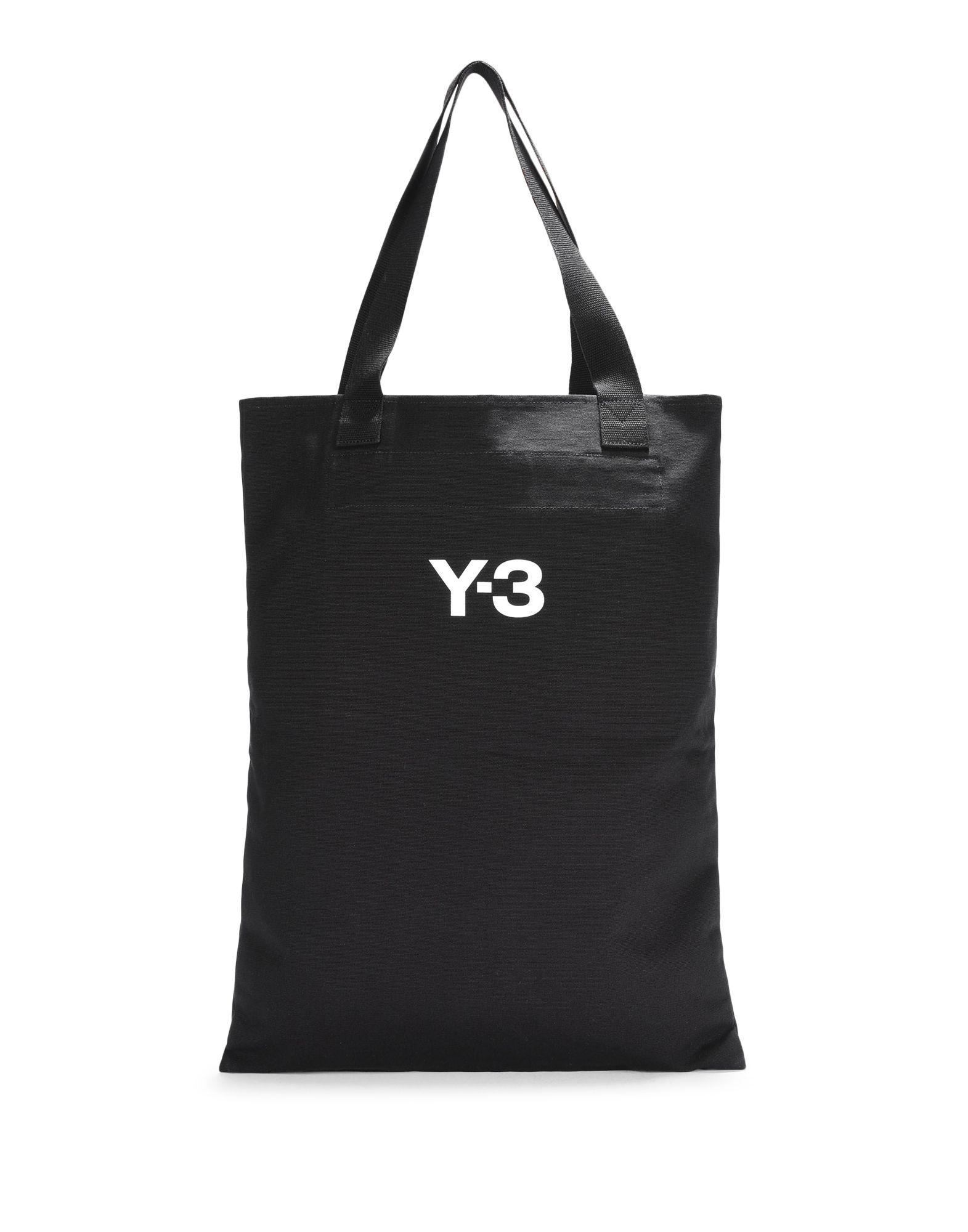 Y-3 Y-3 Slogan Tote Bag Sac moyens en tissu E d