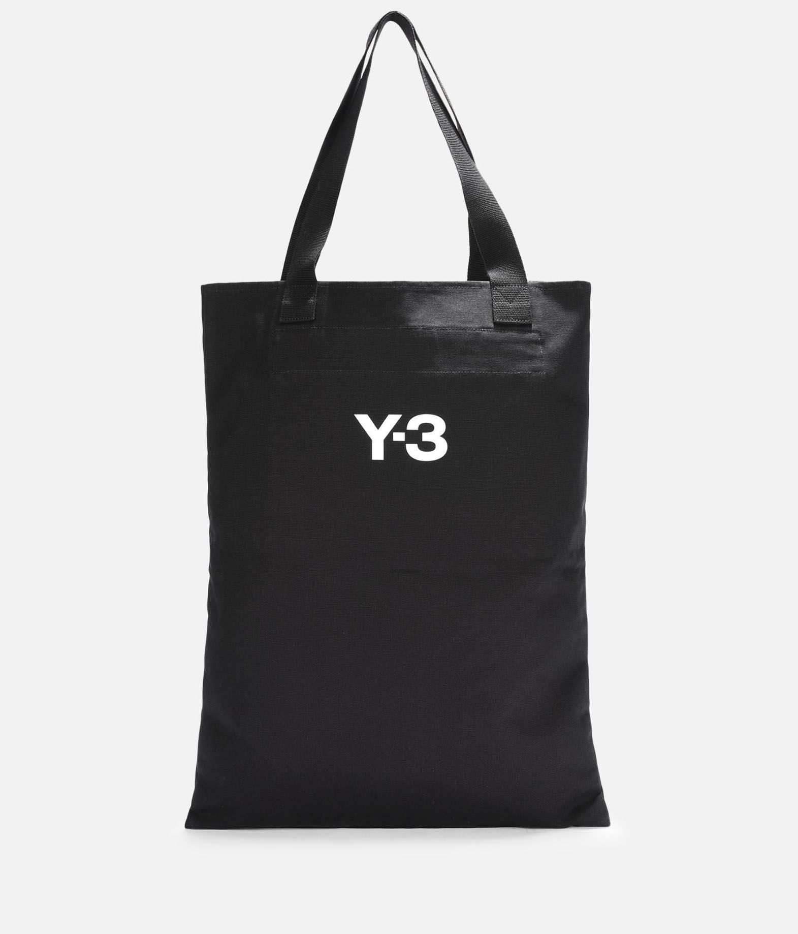 Y-3 Y-3 Slogan Tote Bag Borsa media in tessuto E d