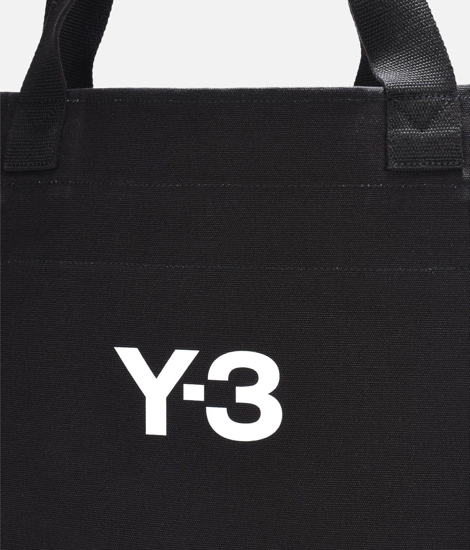 Y-3 Y-3 Slogan Tote Bag Borsa media in tessuto E e