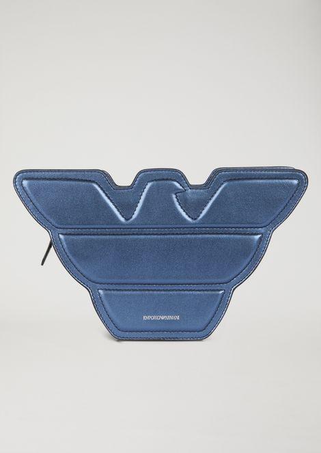 Кожаная сумка в форме орла