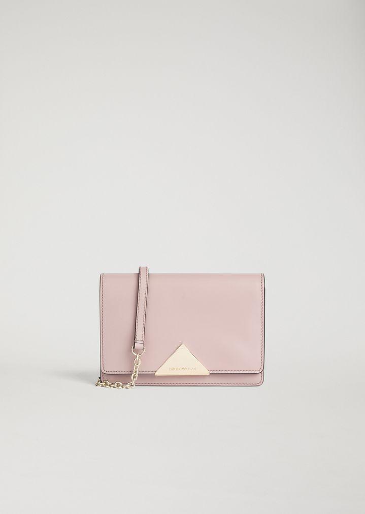 7d26a3f327 Mini Crossbody Bag aus glattem Leder
