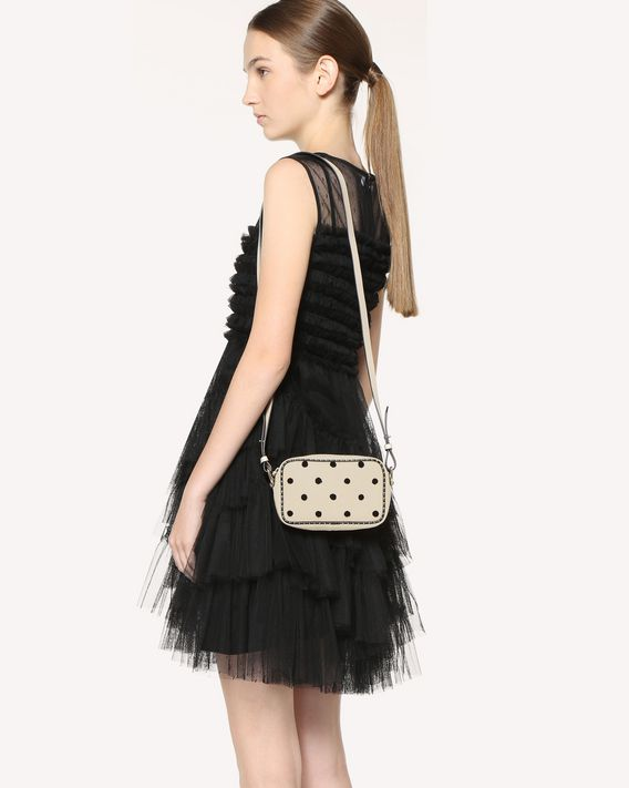 REDValentino SOFT DOTS CROSSBODY BAG