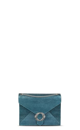 Lamé-look shoulder bag