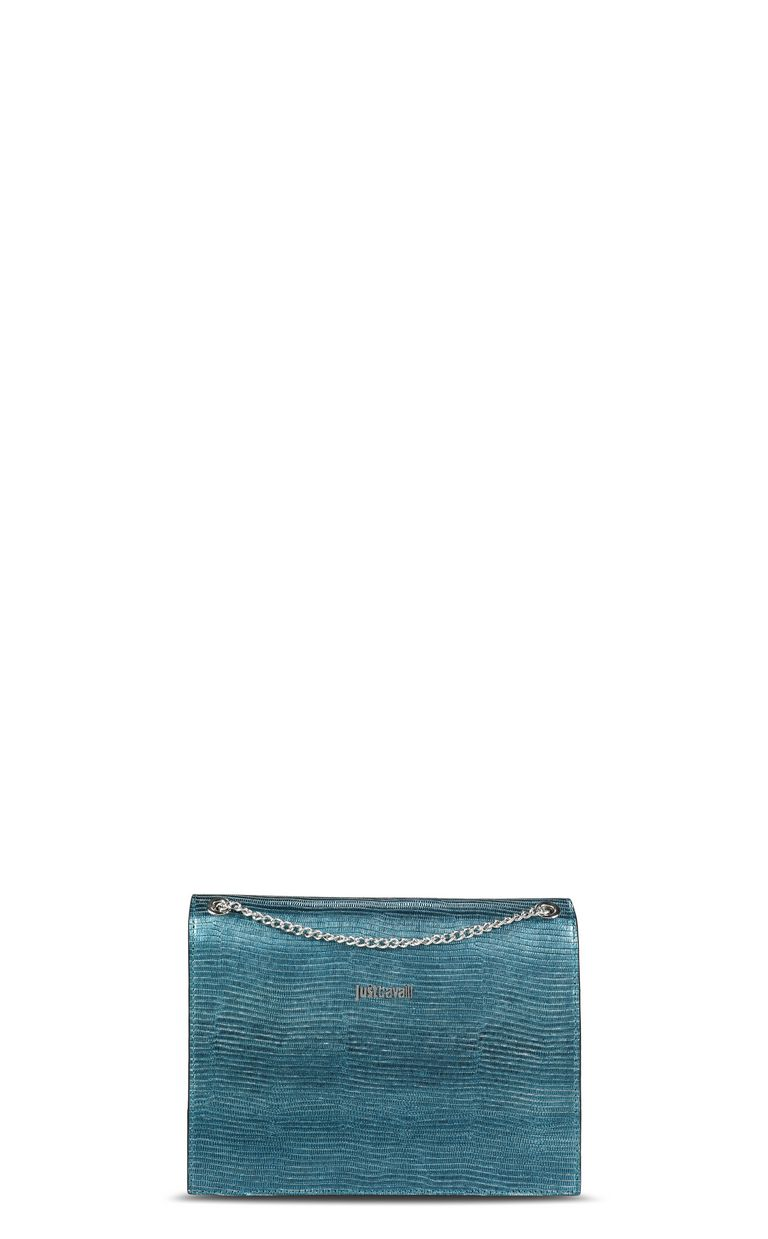 JUST CAVALLI Lamé-look shoulder bag Crossbody Bag Woman e