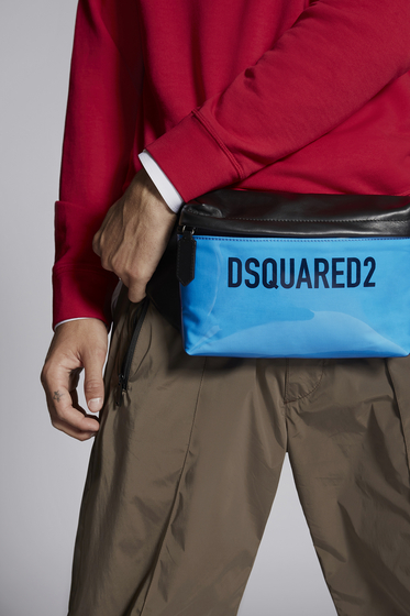 DSQUARED2 Medium fabric bag Man BBM001616802063M1720 m