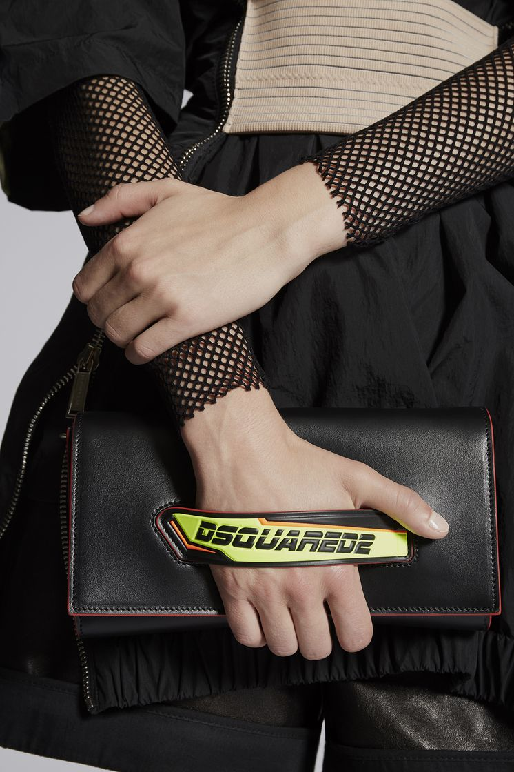 DSQUARED2 Bionic Sport D2 Clutch Shoulder bag Woman