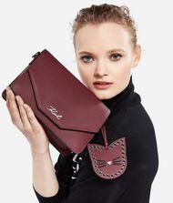 KARL LAGERFELD K/Karry All Leather Shoulder Bag 9_f