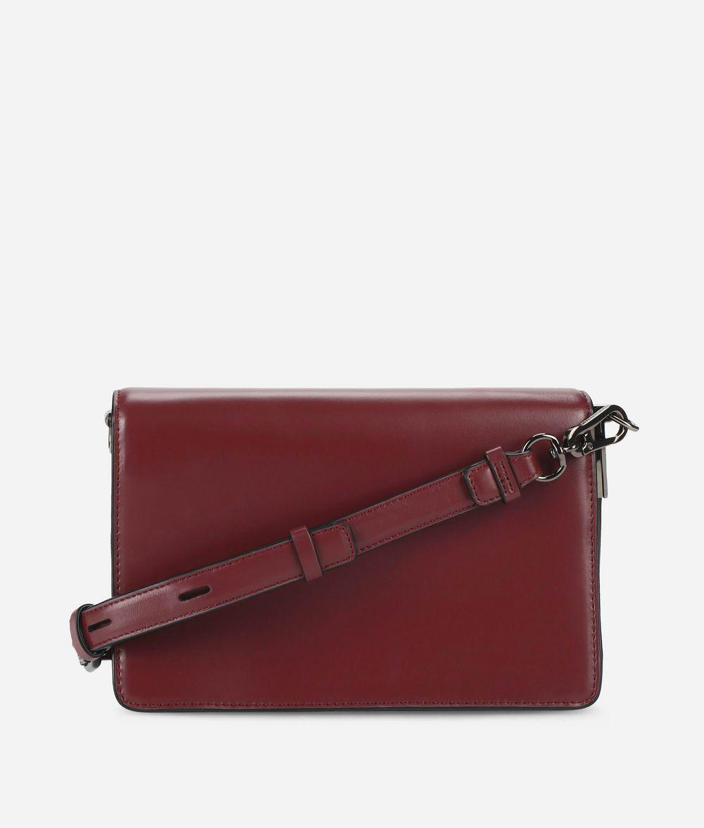 KARL LAGERFELD K/Signature Leather Shoulder Bag Handbag Woman d