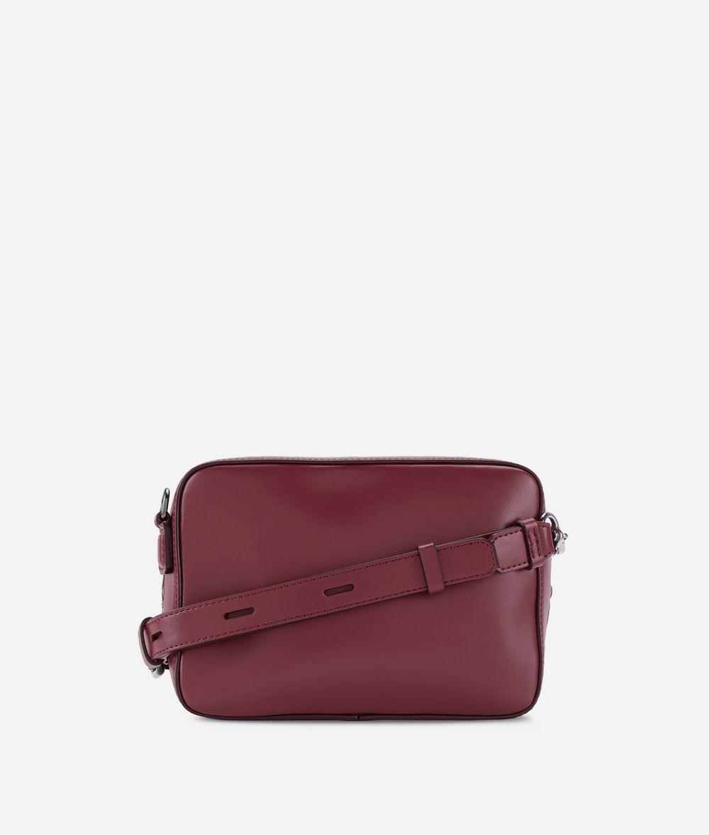 KARL LAGERFELD Kompakte K/Signature Tasche aus Leder Crossbody Bag Damen d