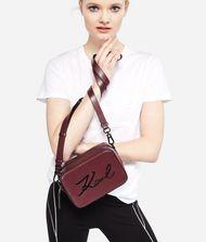 KARL LAGERFELD K/Signature Leather Camera Bag 9_f