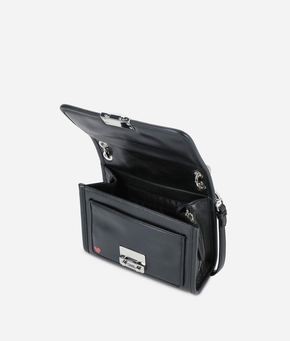 KARL LAGERFELD Karl X Kaia Graffiti Mini Shoulder Bag Handbag Woman d
