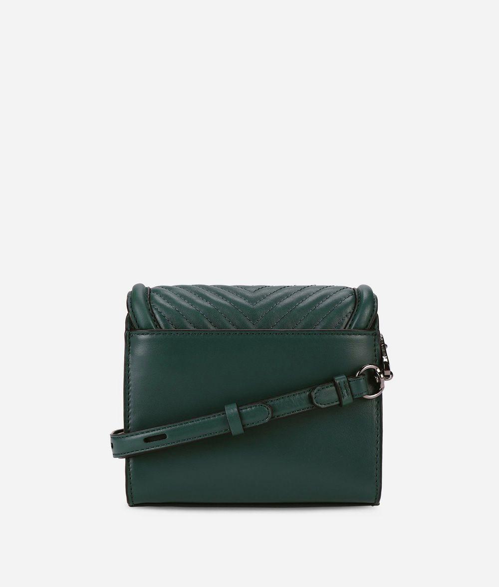KARL LAGERFELD K/Klassik Umhängetasche aus Leder mit gesteppten Details Crossbody Bag Damen d