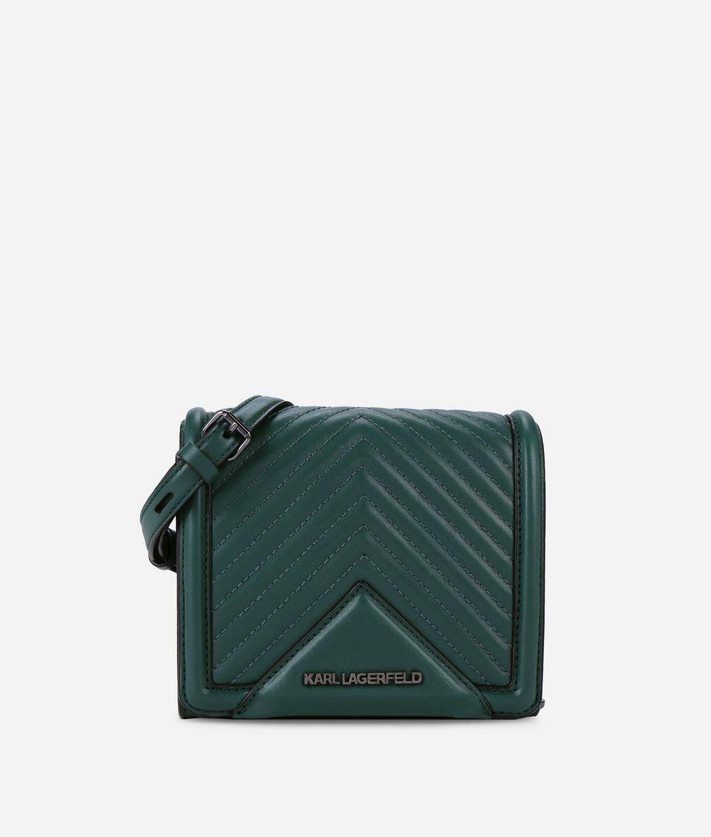 KARL LAGERFELD K/Klassik Quilted Leather Crossbody Bag Crossbody Bag Woman f