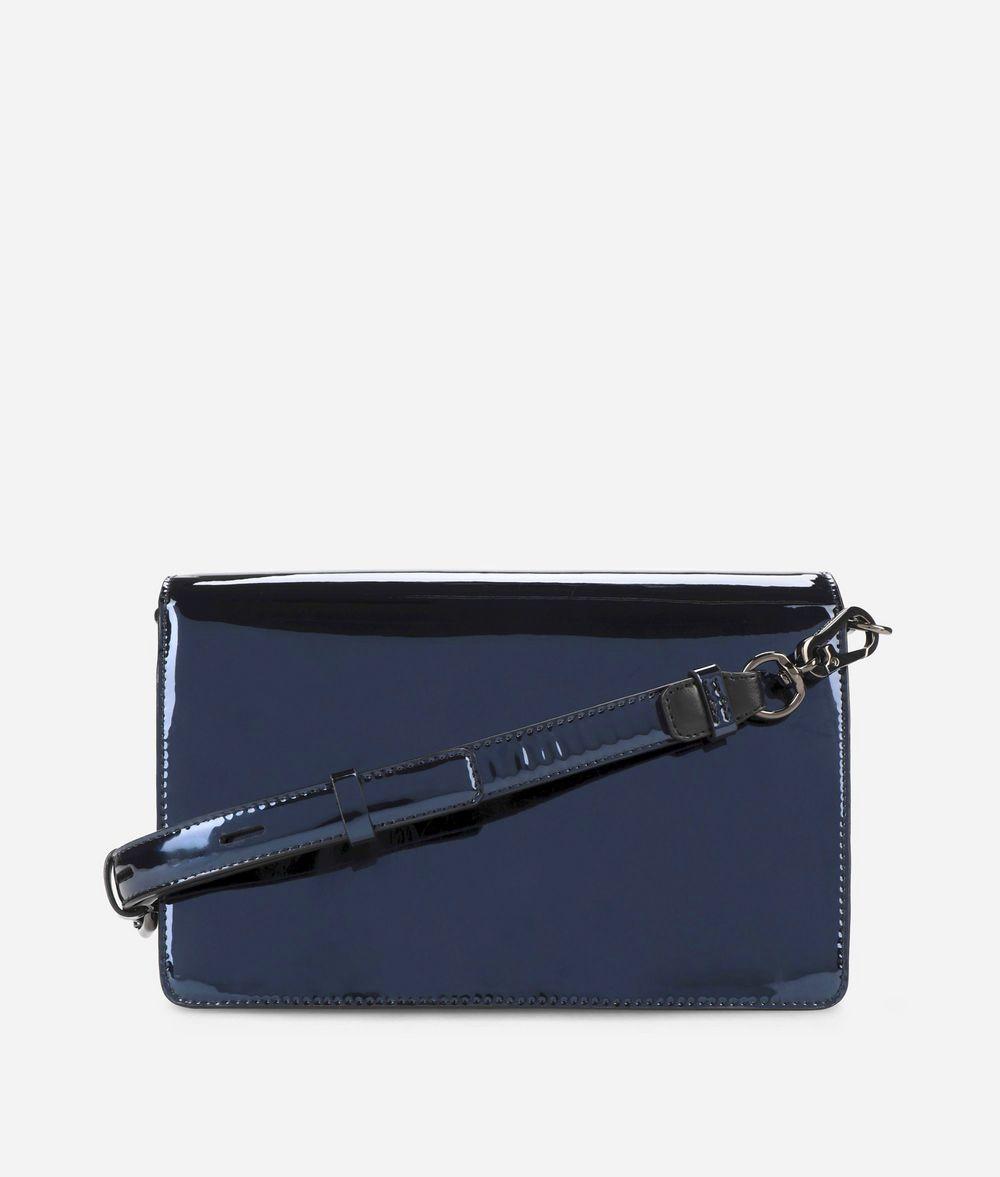 KARL LAGERFELD K/Signature Glossy Shoulder Bag Handbag Woman d