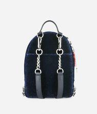 KARL LAGERFELD Karl X Kaia Glitter Velvet Mini Backpack 9_f