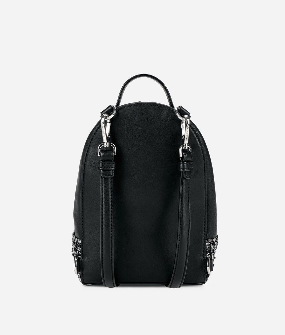 KARL LAGERFELD Karl Space Mini Backpack Backpack Woman d