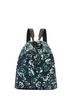 Marni BACKPACK WITH ALL-OVER POETRY FLOWER PRINT Woman