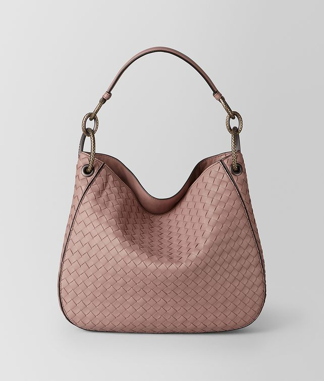 BOTTEGA VENETA DECO ROSE INTRECCIATO NAPPA LOOP BAG Hobo Bag Woman fp