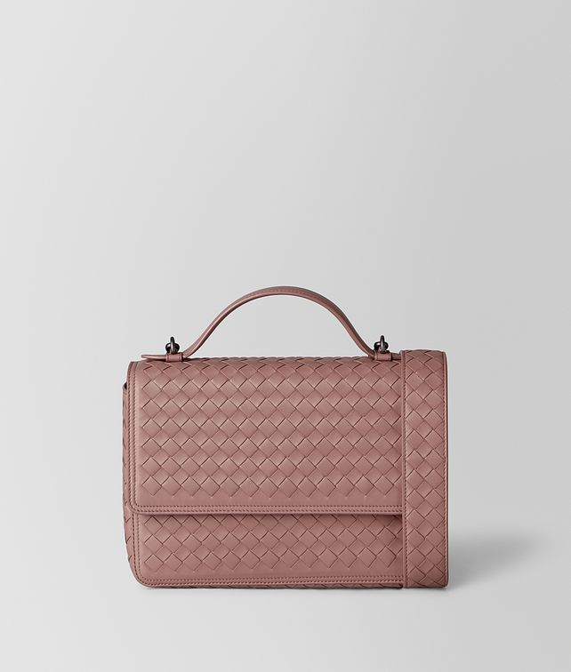 BOTTEGA VENETA DECO ROSE INTRECCIATO NAPPA ALUMNA BAG Crossbody bag Woman fp
