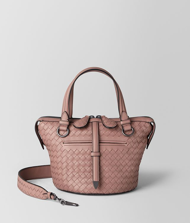 BOTTEGA VENETA DECO ROSE INTRECCIATO NAPPA TAMBURA BAG Top Handle Bag Woman fp