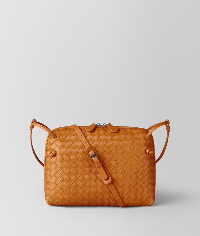 BOTTEGA VENETA ORANGE INTRECCIATO NAPPA NODINI BAG Crossbody and Belt Bags [*** pickupInStoreShipping_info ***] fp