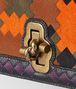 multicolor pony/karung bv patch knot clutch Back Detail Portrait