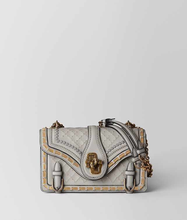 BOTTEGA VENETA CEMENT NAPPA CATENA CITY KNOT Shoulder Bag [*** pickupInStoreShipping_info ***] fp