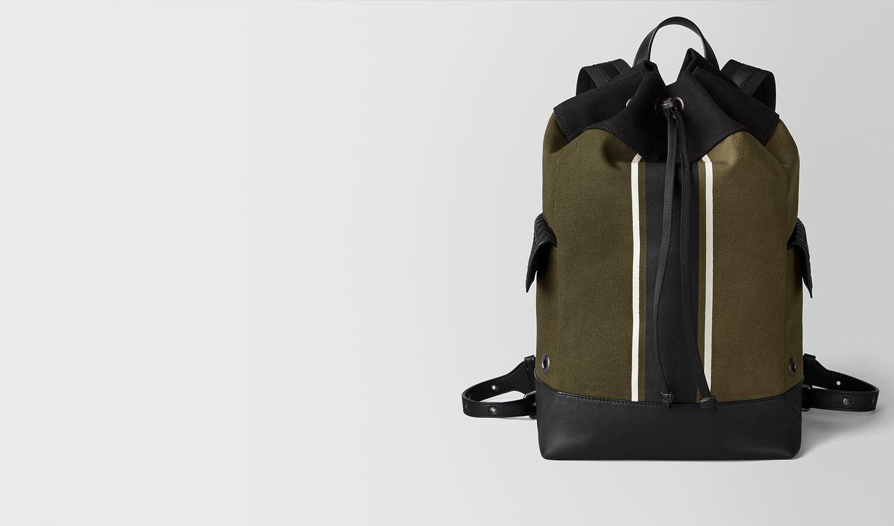 rucksack in mustard/nero landing