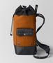 orange/nero canvas backpack  Right Side Portrait