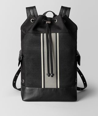 NERO/CEMENT CANVAS BACKPACK