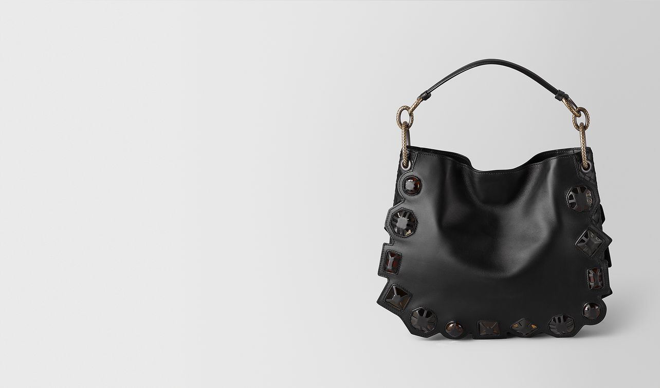 nero french calf/nappa gems loop bag landing