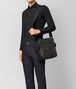 BOTTEGA VENETA NERO/DARK LEATHER INTRECCIATO MICRODOTS MESSENGER Messenger Bag Man ap