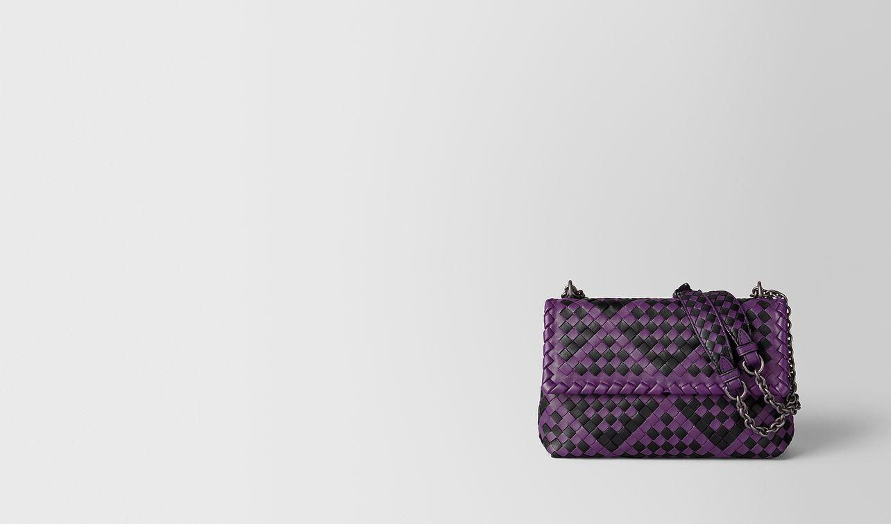 monalisa/nero intrecciato checker olimpia bag landing