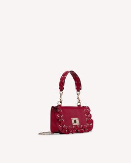 REDValentino ROCK RUFFLES SHOULDER BAG