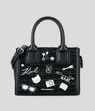 KARL LAGERFELD K/Klassik Mini Tote Bag mit Ansteckern Tote Bag Damen f