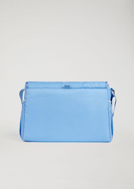 Wickeltasche mit Fläschchen-Halter