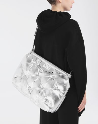 BAGS Large Glam Slam bag Silver