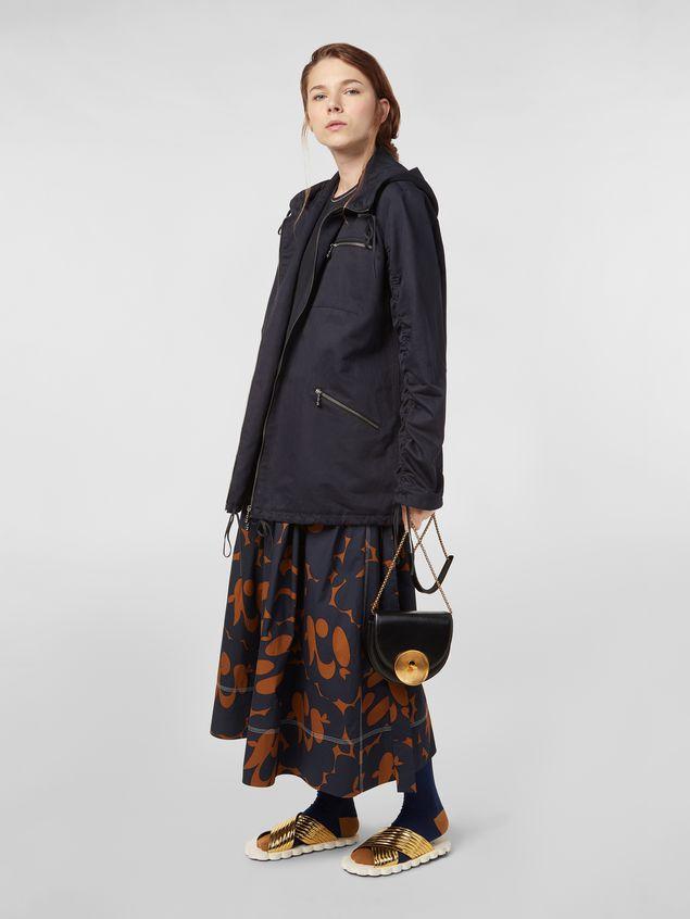 Marni MONILE bag in black leather  Woman - 2